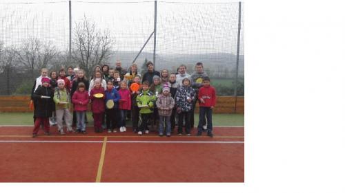 Turnaj v discgolfu pro školáky v Hradčovicích