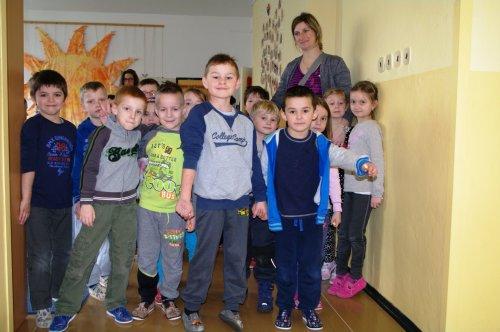 Děti z mateřských škol navštívily naši školu.