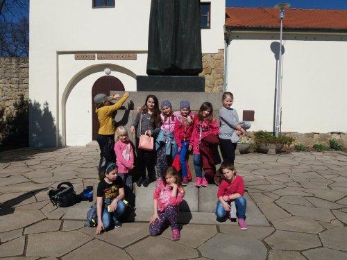 Děti školní družiny na návštěvě v Muzeu Jana Amose Komenského