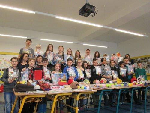 Děkujeme za Vaši  materiální pomoc pro školáky v Nikaragui