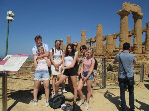 Projekt Erasmus - výlet na Sicílii