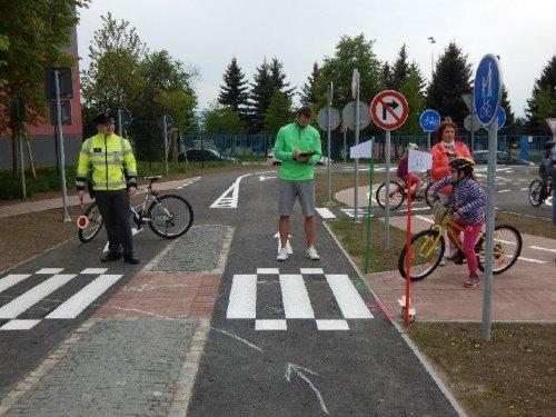 Okrskové kolo dopravní soutěže školních družin