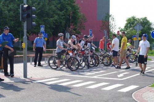 """Regionální kolo """"Dopravní soutěže mladých cyklistů"""""""