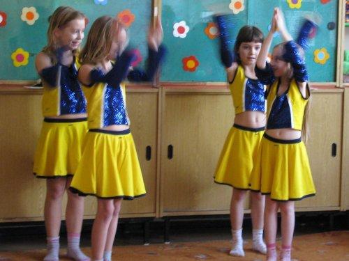 Kamarádská párty ve školní družině