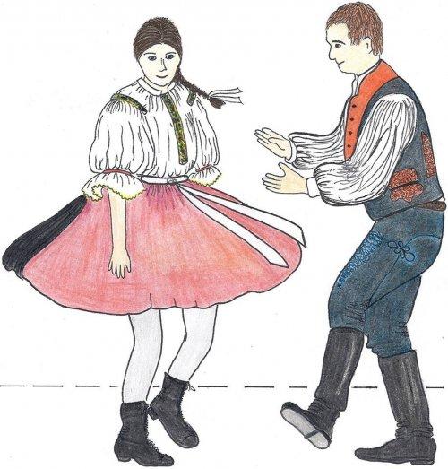 Učíme se lidové tance