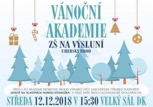 Vánoční akademie 12.12. 2018