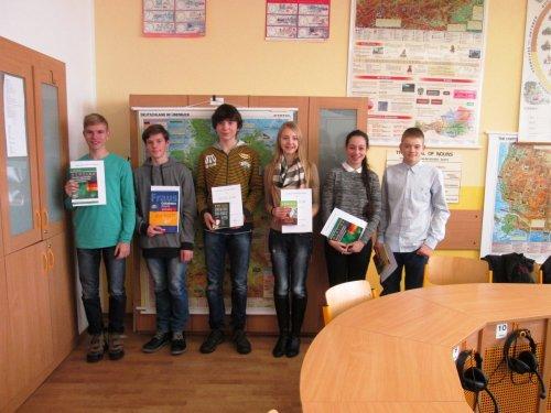 Okresní kolo konverzační soutěže v německém jazyce
