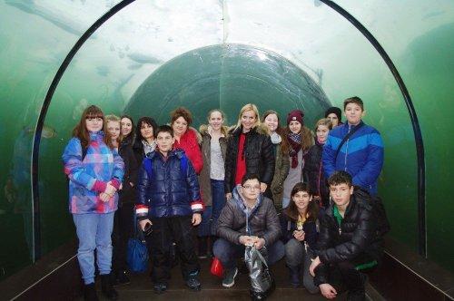 Návštěva žáků z Bulharska u nás - Projekt  Erasmus +