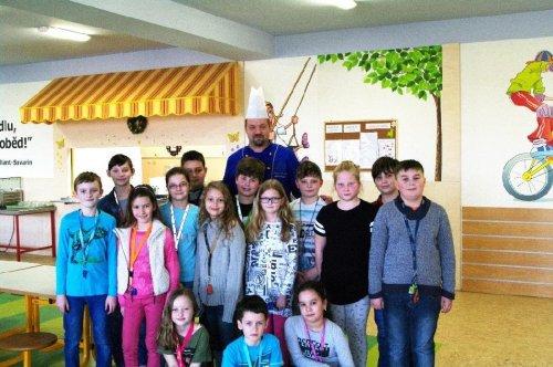 Příchod Velikonoc ve školní jídelně