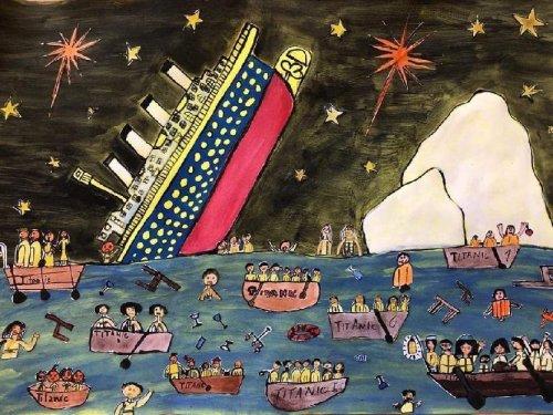 Titanic ve školní družině