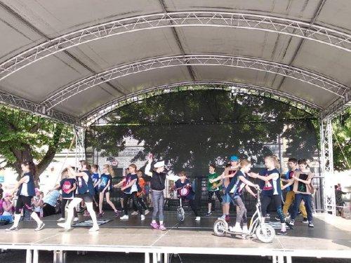 Děti školní družiny vystoupily v Uherském Hradišti