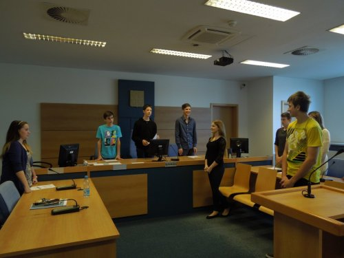 Návštěva okresního soudu ve Zlíně